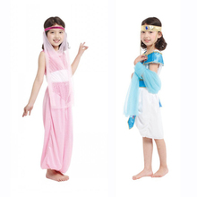 OHCOS Girl Greek Goddess Cosplay Roman Princess Costumes Arabic Fancy Dress Party Halloween Women Athena Costume