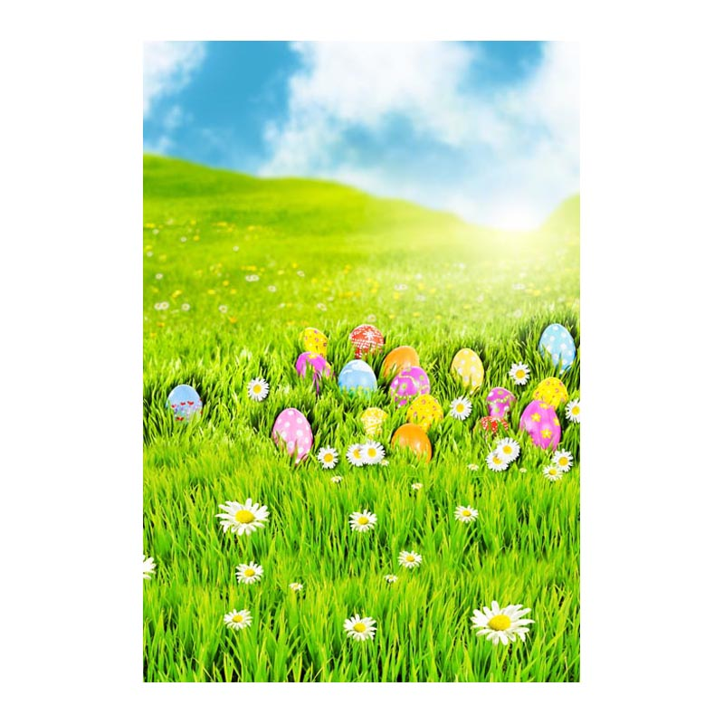 Thin fabric computer Printed photography background Easter eggs blossoms photo backdrop for Studio 5X7ft GE-067<br><br>Aliexpress