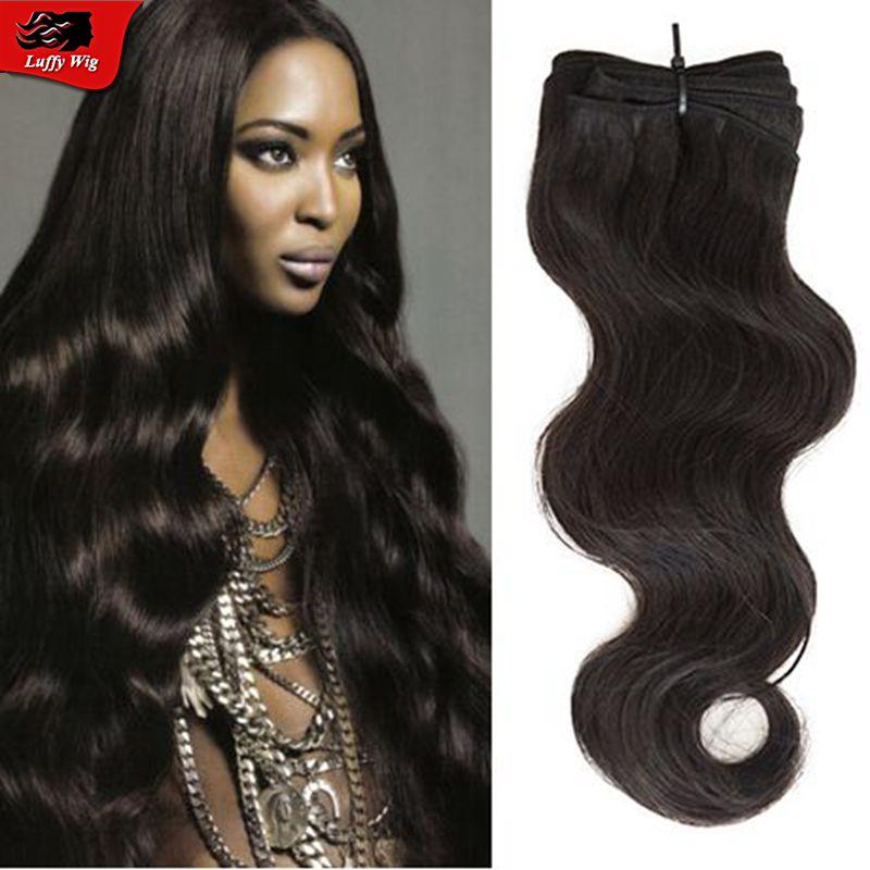 Body Wave Human Hair Bundles 3pcs lot Peruvian Hair Weave Bundles extension high quality machine double weft hair bundles<br><br>Aliexpress