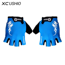 Buy 1 Pair Outdoor Sport Gloves Summer Cycling Bike Bicycle Riding Gym Fitness Half Finger Gloves Shockproof Mittens M/L/XL for $4.39 in AliExpress store