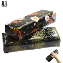 1PCS New Soft Nail Art  PU Leather Hand Rests Pillow Cushion Nail Arm Rest Manicure Accessories Tool Equipment JIND279