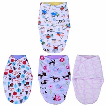 Newborn Baby Sleeping Bag Bathrobes Cotton Plush Infant Warm Sleeping Bag Blanket Wrap Bedding Infant Sleeping Bag Care(China)