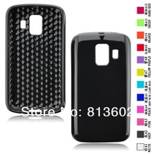 Free shipping DHL ,For Huawei Ascend Y200 U8655 Latest Diamond Style  Soft Gel TPU Resin Skin Back Cover Case,500pcs/lot
