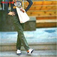Mrs win Khaki Cargo Pants Women Army Green Military Pant Womens Women Work Pants Casual Camouflage Cargo Pants For Females Hosen(China)
