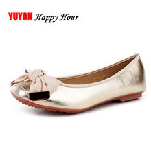 Spring Autumn Soft Leather Flats for Women Sweet Flat Heel Fashion Women's Flats Office Laides Brand Shoes Woman Plus Size 41