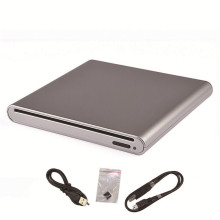 Reliable External USB 2.0 Slim Case Enclosure For 12.7mm SATA Slot-in DVD RW Burner Drive(China)