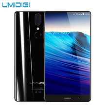Umidigi Crystal Borderless 4G Smartphone MTK6750T Octa-core 4GB RAM 64GB ROM Metal Bezel-less Frameless Android Mobile Phone(China)