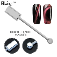 Buy Ellwings 3D DIY Magnet Double-headed Magnetic Plate Pen Strong Magnetic Manicure Tool Cat Eye UV Gel Nail Polish for $1.29 in AliExpress store