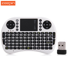 Portable Wireless Mini Keyboard Slim 2.4GHz Air Mouse Keyboard With Touchpad For Android Windows TV Box Notebook Tablet Pc