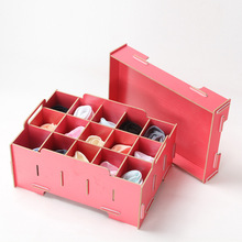 Manufacturer Mi Xiuer M60 cosmetics DIY storage box wooden jewelry box underwear socks storage box(China)