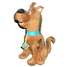 "Free Shipping High Quality Soft Plush Cute Scooby Doo Dog Dolls Stuffed Toy New 13"" Wholesale and Retail"