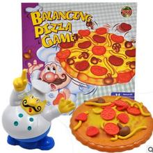 Children's Early Learning Puzzle Fun Balance Pizza Game Fighting Chef Paternity Game(China)