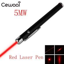 Cewaal Portable 5mW 650nm laser point Powerful pen laser Red Laser Pointer Pen Visible Beam Light laser High Power