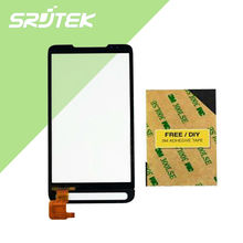 100% Tested Digitizer Touch Screen Glass parts FOR HTC HD2 HD 2 T8585 T-Mobile Touch screen Free Shipping
