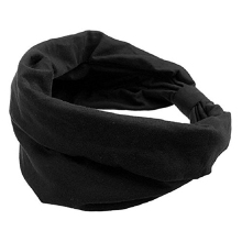 Best Sale Sports Headbands For Women Hair Accessories Turban Headwear Black