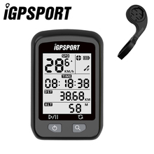 IGPSPORT Bike Wireless Stopwatch GPS Bicycle Wireless Computer IPX6 Waterproof Cycling Speedometer with S60 Out-Front Bike Mount