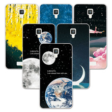 "Buy FOR Lenovo A2010 2010 Case Space Stars Fantasy Soft Silicone Back Cover Lenovo A2010 A2860 A2580 4.5"" Couple Phone Case for $1.39 in AliExpress store"