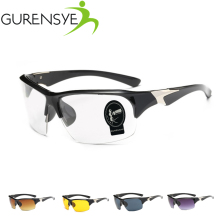 2017 Brand Gurensye New Cycling Eyewear UV400 Cycling Glasses Bike Bicycle Glasses Sunglasses Gafas Ciclismo Goggles 5 Colors