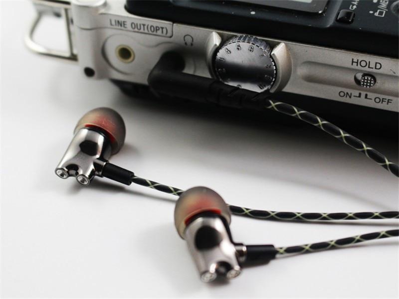 Wooeasy DIY IE800 Earbuds HiFi In-ear Ceramic Earphone Earbud Earbuds Wth Microphone Top Quality HiFi In-Ear Headset 10