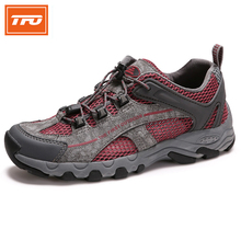 TFO Mesh Aqua Shoes Breathable Quick-Dry Anti-Slippery Water Shoe Men Sport Summer Water Shoes in Water Beach Upstream Shoes(China)