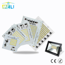 SMD LED Lamps Chip 220V 10W 20W 30W 50W 90W LED Light Smart IC For Outdoor Flood Light Cold/Warm White LED Light Chips(China)