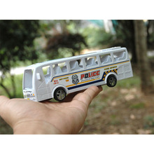 Children Toys Colorful Mini Inertia Model Bus Model toy Push and Go Friction Toy Gift for children 2-4 years(China)