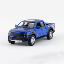 Kinsmart F-150 F-Series Pickup trucks 1/46 alloy models model car Pickup pull back car children's toys car Kids toy(China)