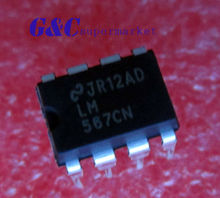 20PCS IC LM567 567 LM567CN DIP8 IC TONE DECODER NEW GOOD QUALITY