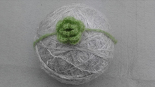 Crochet Mohair Headband With Flower Hairband Baby Girl Hair Decoration Baby Shower Gift. Photography Props(China)