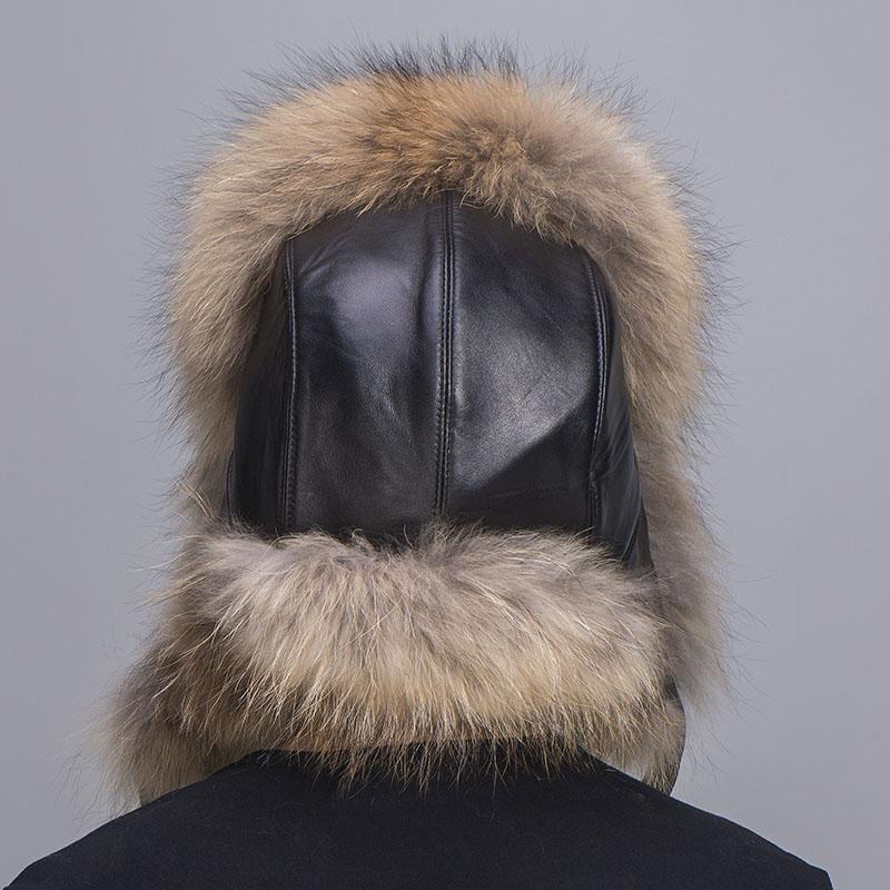 big fur hat raccoon fur 4