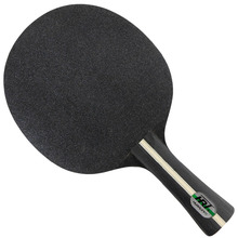 HRT Black Crystal (5 Wooden + 2 Crystal Carbon) OFF Table Tennis Blade for PingPong Racket