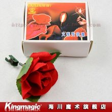 Free shipping! Match to Rose/can be reused/box package/magic tricks/magic sets/magic props/stage magic
