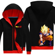 Dragon Ball Son Goku hoodie north Kaio DragonBall Z DBZ Cosplay Costume cotton fleece thick jacket coat coat