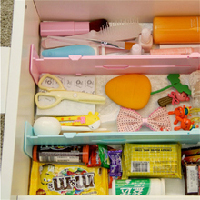 Retractable Adjustable Stretch Plastic Drawer Divider Organizer Storage Partition Board Multi-Purpose Diy Home OFFice Kitchen(China)