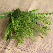 Hot New Hight Quality Fishtail Pine Fern Fake Plant Artificial Floral Home Party Office Decor Decoration