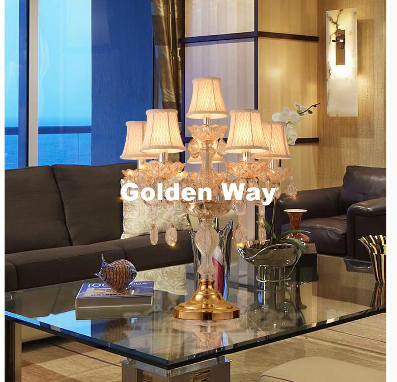 Großhandel Neu Gold Moderne Deco Luxus K9 Kristall Design Kristall ...