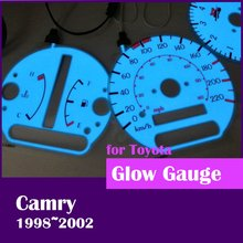 DASH On sale free shipping EL Glow Gauge for Toyota Camry 1998 2002 Blue Green(Taiwan)