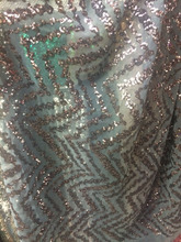 New fashion with best quality 2 color option! pure french net Lace fabric sequins lace fabric for party