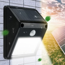 Waterproof Wireless PIR Motion Sensor 12 LED Solar Light Outdoor Solar Powered Garden Light Landscape Yard Wall Lamp(China)