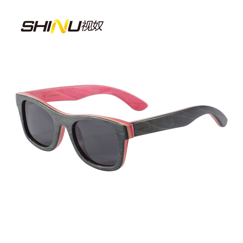 hot sell men and women shade skateboard wood sunglasses UV400 polarized sunglasses outdoor goggle Gafas De Sol freeshiping 68041<br><br>Aliexpress