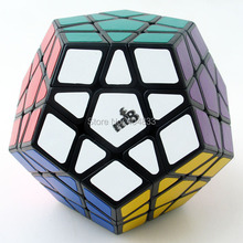 MF8 Megaminx V3 Black Cubo Magico Speed Cube Twist puzzle Educational Toys Gift idea Free Shipping Drop Shipping(China)