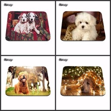 Mairuige Hot Sale Quick printing custom antiskid durable husky Dog Mouse Pad computer Mouse Pad, home and office   As A Gift