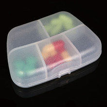 Portable New Tablet Pill Box Medicine Organizer Container Case Home Boxes Pill Cases 5 lattices Splitters