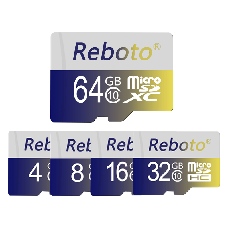 Reboto Newest 16GB 32GB 64GB Micro SD Card Memory Card Microsd Mini SD Card 4GB 8GB Memoria TF Card for Phone Tablet(China)