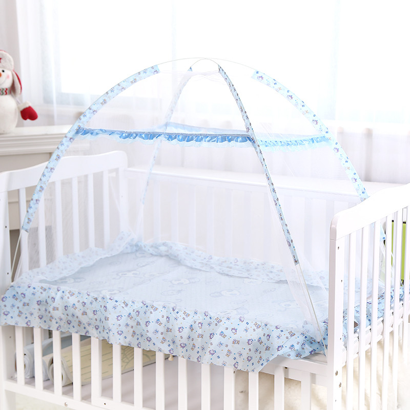 baby bed nets ger children with stents kindergarten children folding bed nets cover<br>