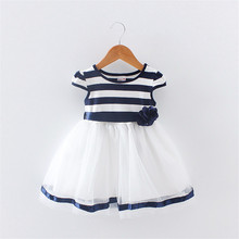 BibiCola Summer Baby Girl Dress New Fashion Children Girls Clothing Toddler Girls Princess Tutu Dresses Baby Girls Party Dress