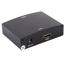 Newest HDMI to RGB Component (YPbPr) Video conversor +R/L Audio Adapter Converter HD TV S3