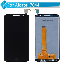 For Alcatel One Touch Pop 2 Premium 7044 OT7044 LCD Display Touch Screen Digitizer Assembly