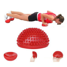 Yoga Half Ball Massage Mat Yoga Fitness Ball Trigger Point Half Ball Body Muscle Physical Fitness Sport Gym Equipment Ball