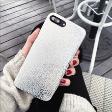 Buy Bling Shining Fish Scales Case iPhone 7 6 6S Plus Cover Luxury Glitter Sequins Snake Pattern Laser Colorful Soft Phone Cases for $1.59 in AliExpress store